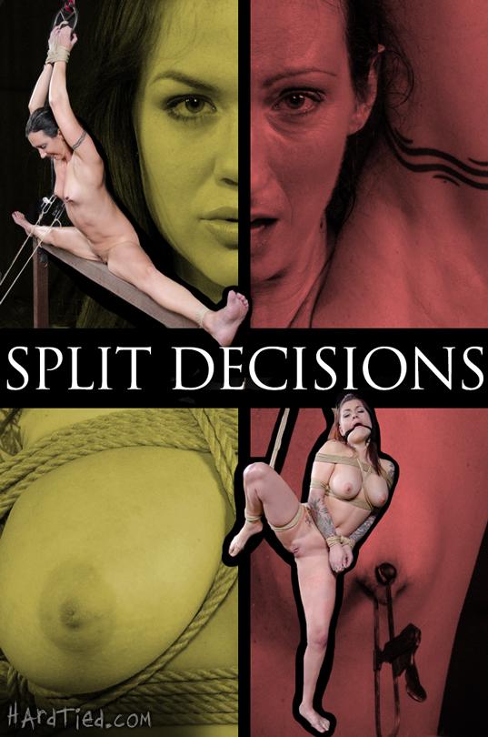 Split Decisions Wenona and Karmen Karma on Hard Tied