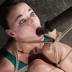 London River screaming in contortion bondage