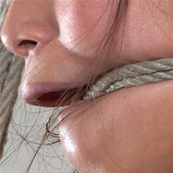 Chillycarlita sexy rope gag keeps her quiet