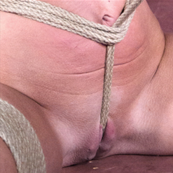 Abigail Dupree tits tugged at with nipple clamp weight