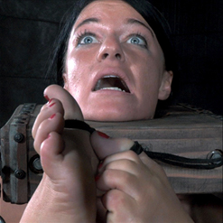 London River ass fucked with Mr. Pogo Dildo