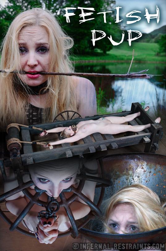 Fetish Pup starring Delirious Hunter on Infernal Restraints