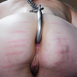 Freya French bent over, penetrated by Mr. Pogo