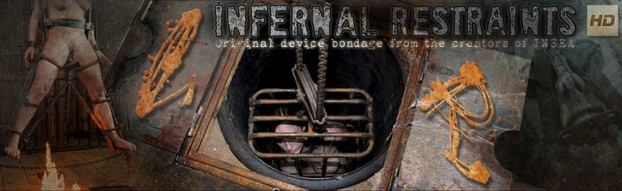 Extreme Device Bondage and Metal Restraints BDSM Header Logo