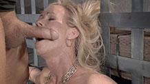 Simone Sonay worships big hard cock