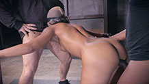 Sexuallybroken Skin Diamond bondage and rough fucking