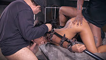 Sexuallybroken Skin Diamond AVN winner bondage rough sex