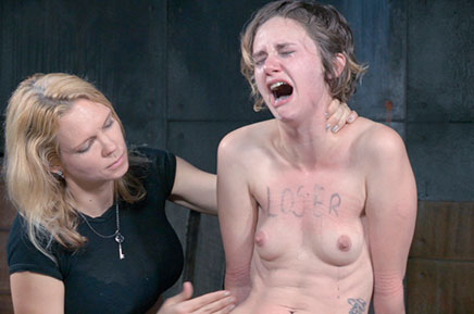 Mercy West getting tits slapped by Rain DeGrey