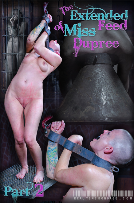 Extended Feed of Ms. Dupree Part 2 on Real Time Bondage