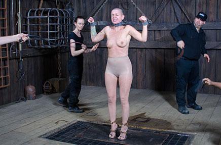 Abigail Dupree fucked by Mr. Pogo dildo