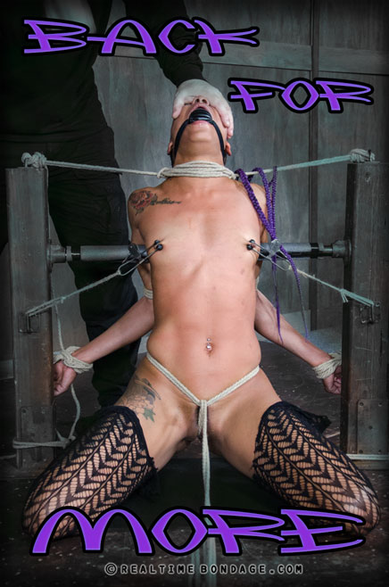 Real Time Bondage presents Nikki Darling