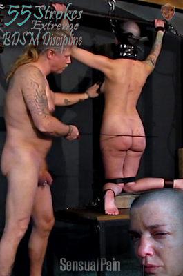 New video: 55 Strokes Extreme BDSM<br />Discipline at sensualpain.com