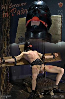 New video: He Screams In Pain at sensualpain.com