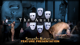 """""""The Auction"""": Real<br />life fantasies from your<br />favorite porn stars!  A<br />feature Presentation!"""