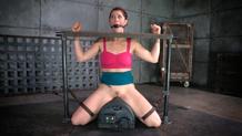 Brutal dungeon rough sex slave Cici Rhodes