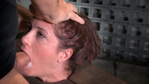 Brutal rough deepthroat in bondage Cici Rhodes