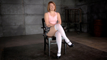 Sex and submission dungeon slave Claire Robbins