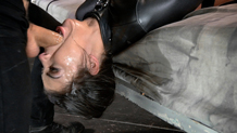Messy drooling dungeon slave Bonnie Rotten epic deepthroat