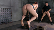 Bondage sex slave training Cici Rhodes redhead MILF
