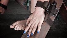 Strict device bondage Claire Robbins