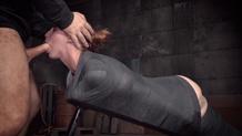 Sex and submission Bella Rossi strict bondage mummification