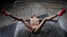 Tiny blonde Odette Delacroix Sexuallybroken