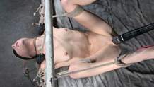 Bound blindfold Odette Delacroix Sexuallybroken deepthroat