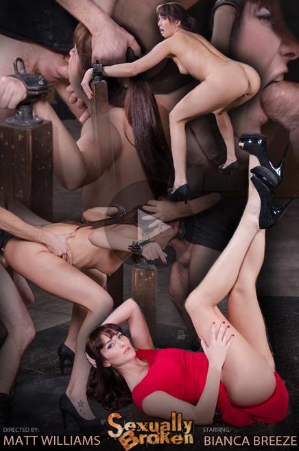 Sexuallybroken Bianca Breeze bondage epic deepthroat