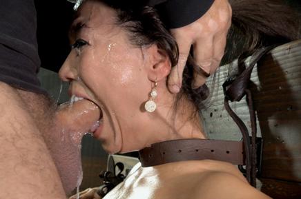 Sexuallybroken brutal deepthroat Kalina Ryu bondage