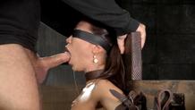 Sexy Asian Kalina Ryu Sexuallybroken sybian bondage
