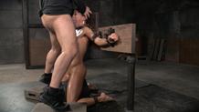 Blindfolded Kalina Ryu bondage deepthroat Sexuallybroken
