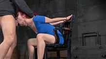 Redhead Violet Monroe drooling BBC deepthroat Sexuallybroken