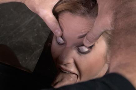 Sexuallybroken bondage brutal deepthroat Kleio Valentien