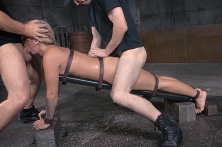 Bound Madelyn Monroe roughly fucked Sexuallybroken