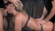 Brutal bondage deepthroat Madelyn Monroe Sexuallybroken