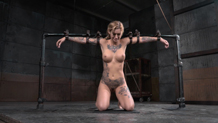 Restrained Kleio Valentien suffers in bondage