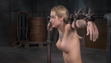 Busty bound Kleio Valentien for Sexuallybroken