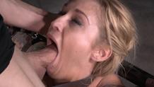 Sexy Kleio Valentien does drooling Sexuallybroken deepthroat