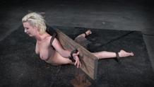 Bound Cherry Torn deepthroating BBC for Sexuallybroken