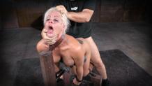 Drooling deepthroat by Holly Heart for Sexuallybroken