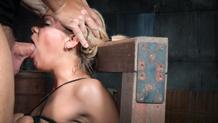 A bound Stevie Smith deepthroats BBC for Sexuallybroken