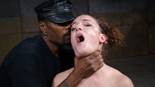Messy and destroyed Endza takes two cocks to the face