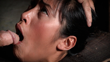 Busty Asian Mia Li cums her brains out on a sybian