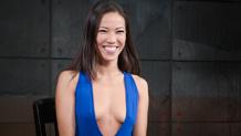 Big hard dick fucks Kalina Ryu's tight Asian pussy