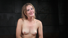 Drooling and destroyed Mona Wales deepthroats the dick