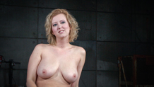 Busty blonde Cherry Torn all smiles after Sexuallybroken