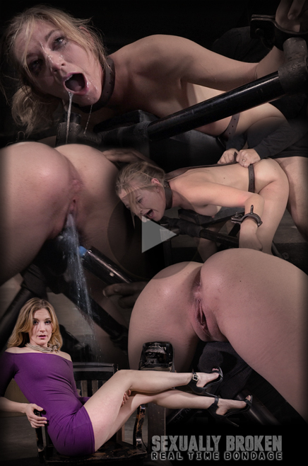 Sexy Mona Wales roughly fucked and sucks in bondage
