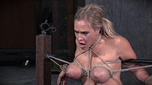 Sexy Angel Allwood deepthroats hard cock