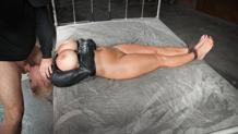 Huge black cock takes Alyssa Lynn's shaved pussy