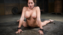 Jean Michaels sucks cock in chains for Sexuallybroken